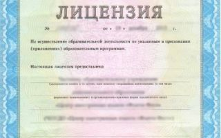 Порядок получения лицензии на образовательную деятельность в 2019-2020 годах: образец заявления на переоформление