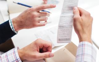 Товарный чек: образец заполнения и правила оформления