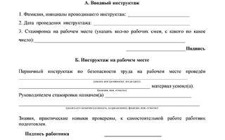 Вводный инструктаж по охране труда 2020: образец программы проведения и кто проводит