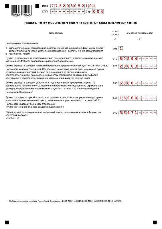 Нулевая декларация по ЕНВД: информация по нулевой отчётности, нужно ли подавать её в ФНС, последствия, бланк и образец заполнения декларации, порядок оформления отчётности, сроки подачи, ответственность