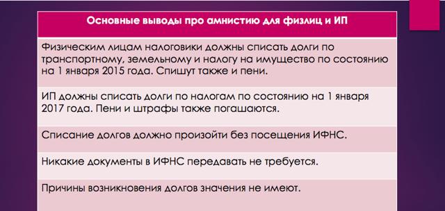 Налоговая амнистия: преимущества и недостатки, ответственность, бланк декларации и её заполнение, история налоговой амнистии в России, перспективы