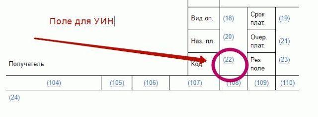 Что такое УИН в платежном поручении: какой уникальный идентификатор начисления указывать на 2019-2020 года, где взять, как расшифровывается, образец