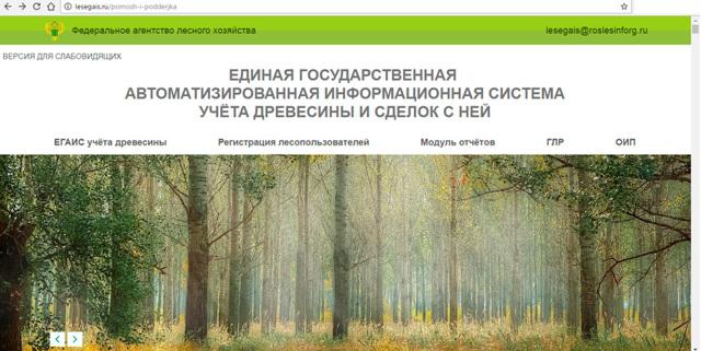 ЕГАИС Лес: учет древесины и сделок с ней, вход в личный кабинет, штрафы