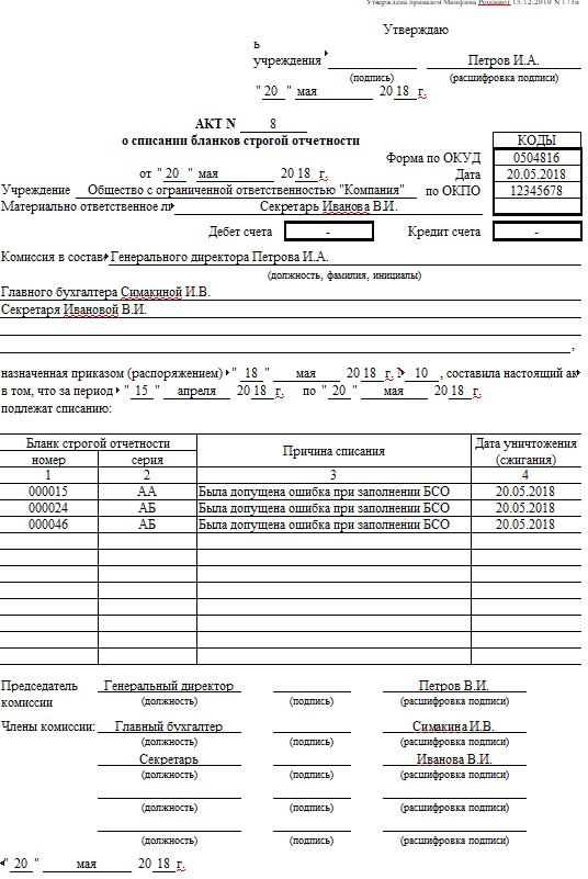 Бланк строгой отчетности для ИП в 2019-2020 годах: образец, скачать квитанции, учет