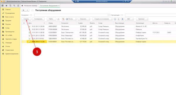 Ввод в эксплуатацию основных средств: проводки, документальное оформление, дата постановки на баланс