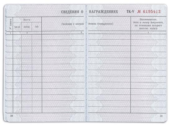 Как оформить вкладыш в трудовую книжку: заполнить и вшить, образец записи, кто должен покупать его