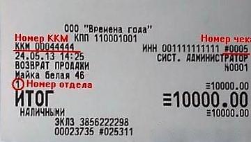 Номер чека на кассовом чеке: где указан, как найти